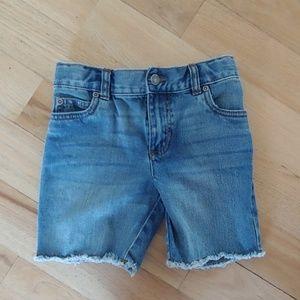 4T Boys Jean Cutoff Style Shorts